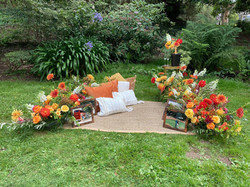Fall themed picnic proposal with the Yes Girls in Golden Gate Park