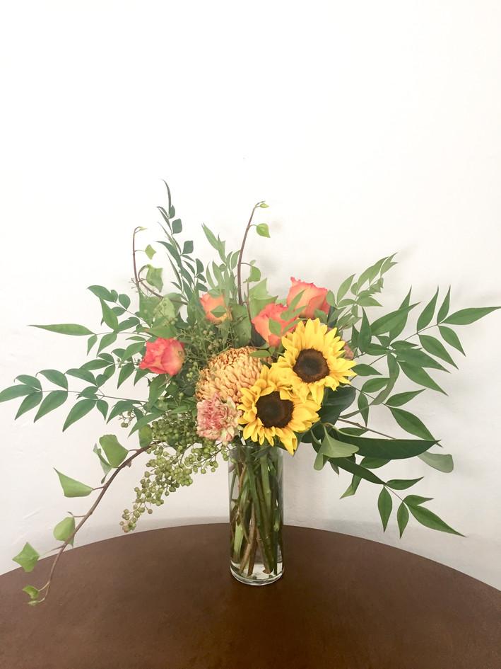 Late Summer Floral Arrangement