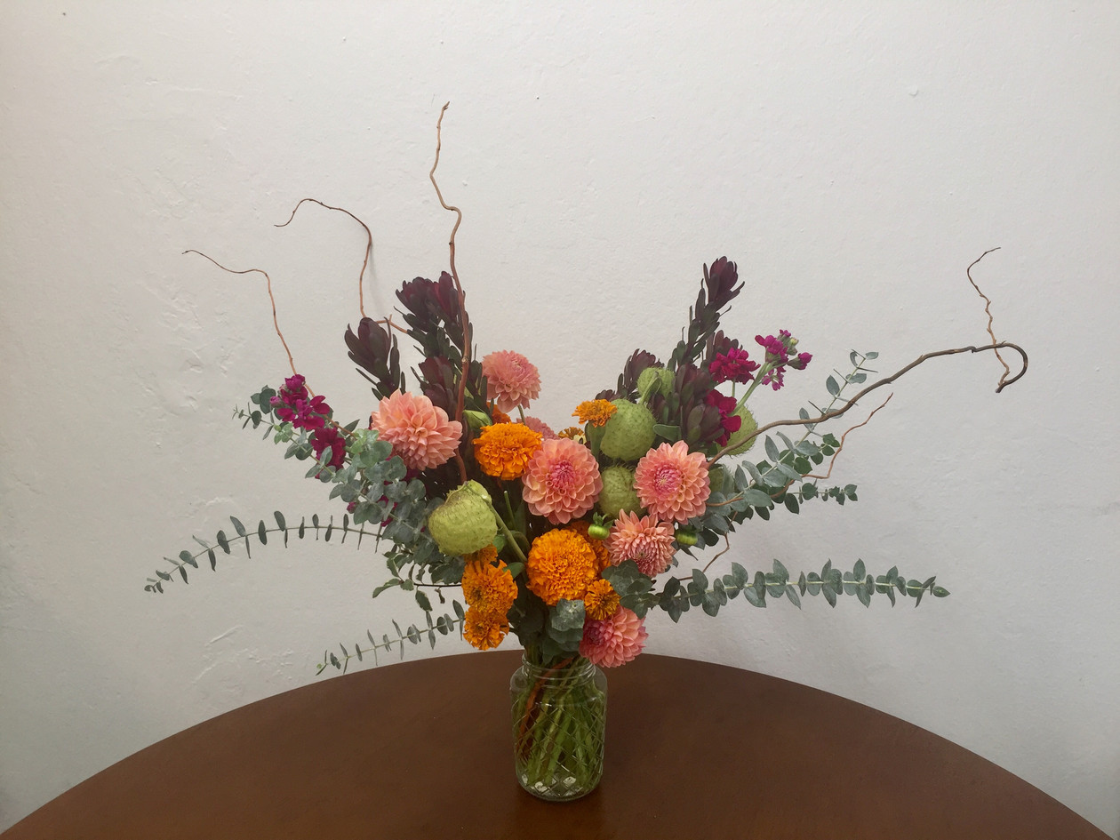 Unique and interesting birthday flowers