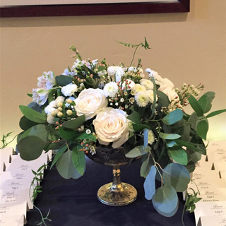 Place Card Flowers
