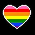LGBTQ Pride Heart