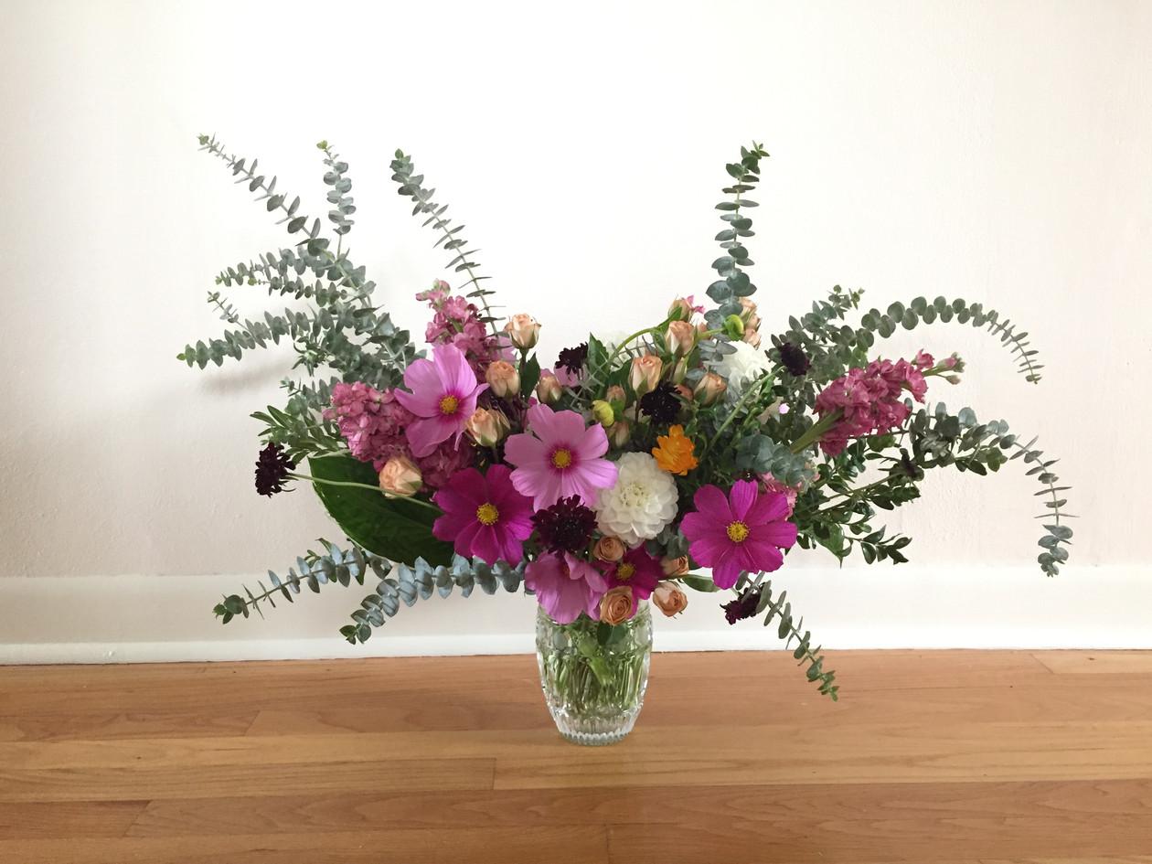 Purple Wedding Anniversary Flowers