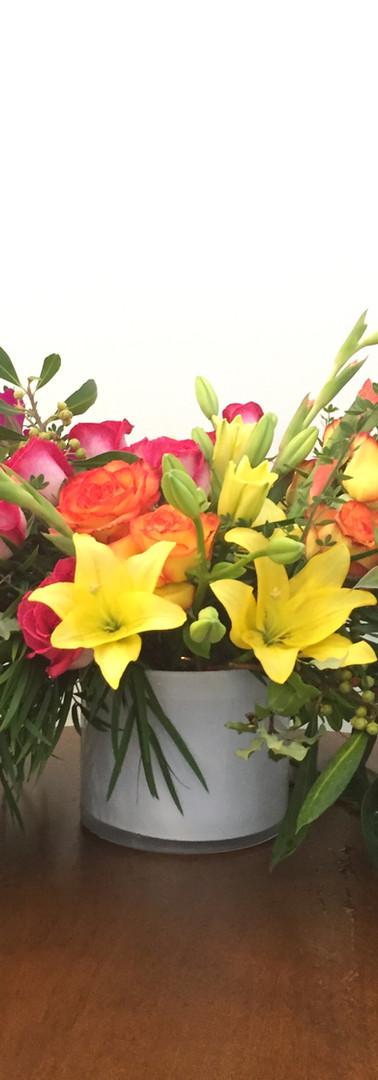 Colorful, Bold Floral Arrangement