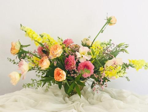 Cheerful summer bouquet