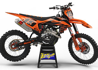 "KTM ""EFFEX"" ORANGE/BLACK KIT: $179.95 - $279.95"