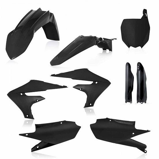 ACERBIS PLASTIC KIT YZF 250 19-20 450 18-20 BLACK