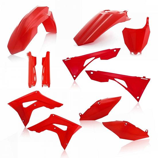 ACERBIS PLASTIC KIT HONDA CRF 250 450 19-20 RED