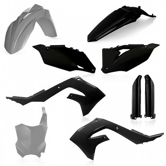 ACERBIS PLASTIC KIT KAWASAKI KXF 450 19-21 GREY BLACK