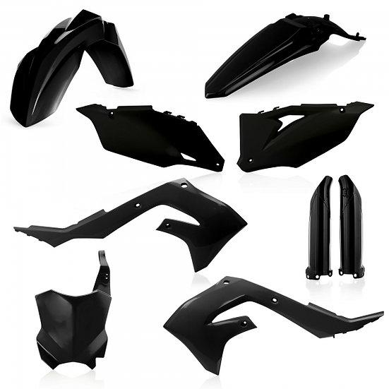 ACERBIS PLASTIC KIT KAWASAKI KXF 450 19-21 BLACK