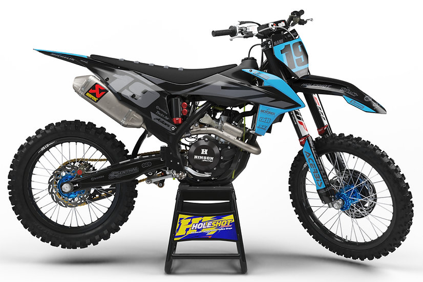 "KTM ""EFFEX"" BLUE/GREY/BLACK KIT: $179.95 - $279.95"