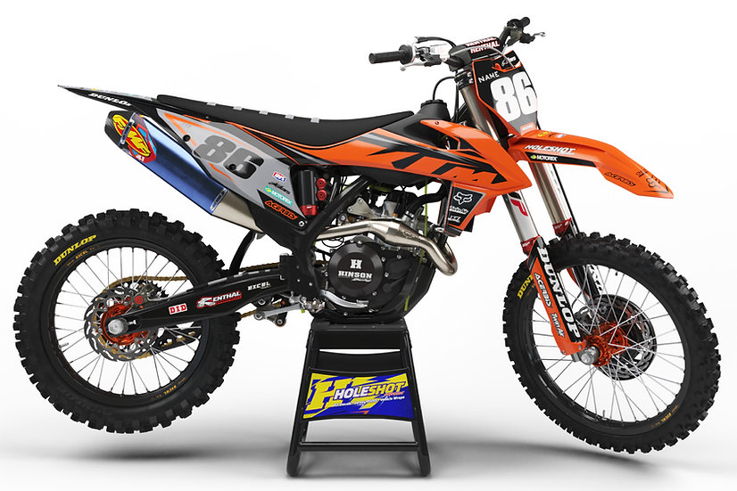 "KTM ""LEVER"" ORANGE/BLACK KIT: $179.95 - $279.95"
