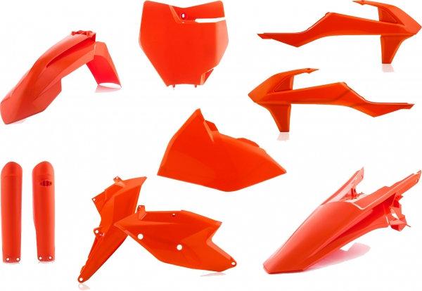 ACERBIS PLASTIC KIT KTM SX SXF 16-18 ORANGE