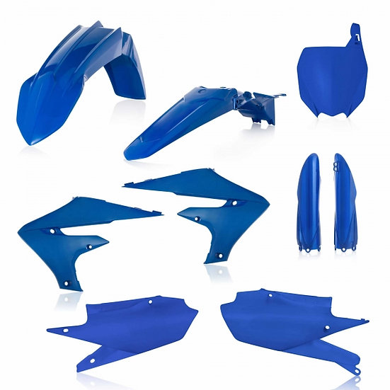 ACERBIS PLASTIC KIT YZF 250 19-20 450 18-20 BLUE