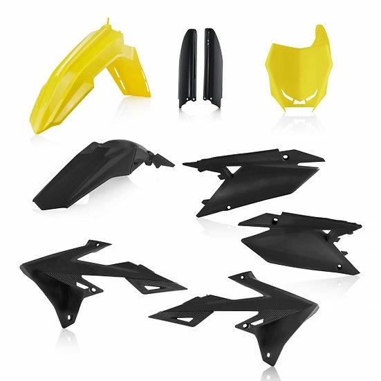 ACERBIS PLASTIC KIT RMZ 250 19-20 450 18-20 YELLOW BLACK