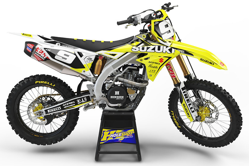 "SUZUKI ""FLEX"" YELLOW/WHITE KIT: $179.95 - $279.95"