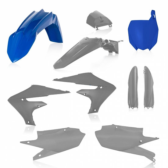 ACERBIS PLASTIC KIT YZF 250 19-20 450 18-20 GREY HAWK FACTORY
