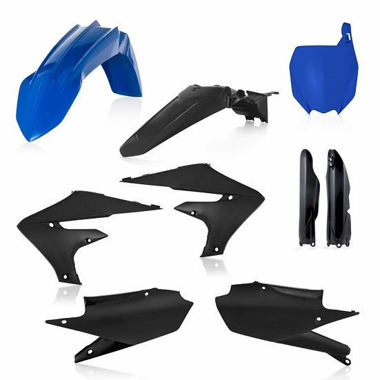 ACERBIS PLASTIC KIT YZF 250 19-20 450 18-20 BLUE BLACK