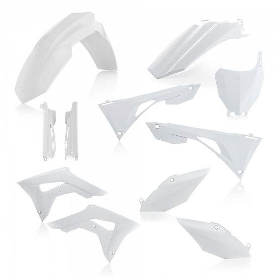 ACERBIS PLASTIC KIT HONDA CRF 250 450 19-20 WHITE