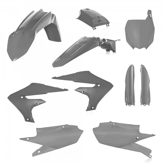 ACERBIS PLASTIC KIT YZF 250 19-20 450 18-20 GREY HAWK
