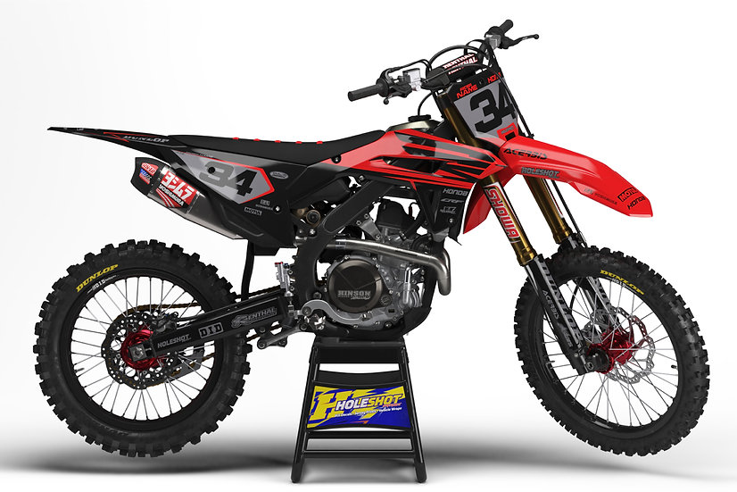"HONDA ""CRUX"" RED/BLACK KIT: $179.95 - $279.95"