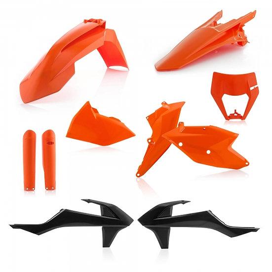 ACERBIS PLASTIC KIT KTM EXC EXCF 17-19 ORIGINAL 17