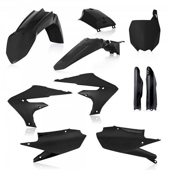 ACERBIS PLASTIC KIT YZF 250 19-21 450 18-21BLACK