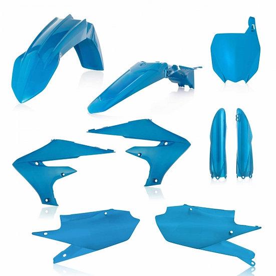 ACERBIS PLASTIC KIT YZF 250 19-20 450 18-20 LIGHT BLUE