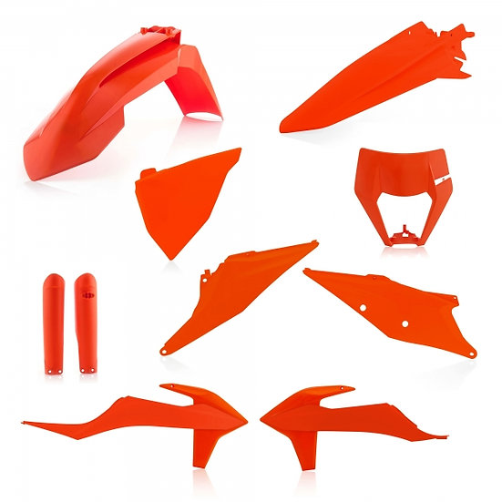 ACERBIS PLASTIC KIT KTM EXC EXCF 2020 ORANGE