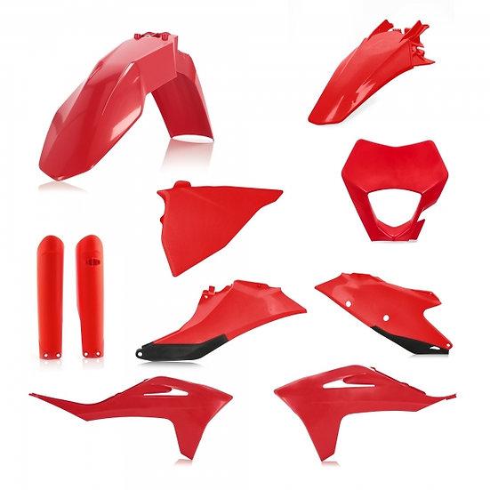 ACERBIS PLASTIC KIT GAS GAS EC 250 300 350 21 RED