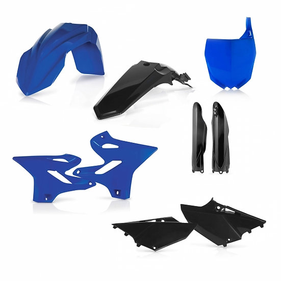 ACERBIS PLASTIC KIT YAMAHA YZ 125 250 15-20 BLUE BLACK