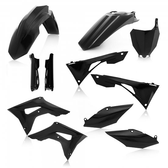 ACERBIS PLASTIC KIT HONDA CRF 250 450 19-20 BLACK