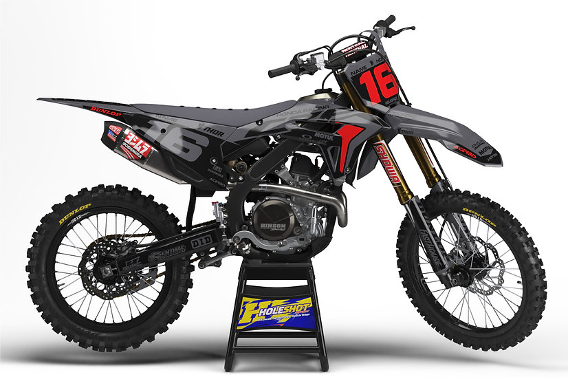 "HONDA ""FACTORY"" GREY/BLACK KIT: $179.95 - $279.95"