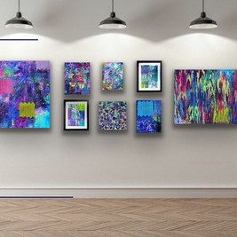 Contemporary Abstract Expressionist Arti