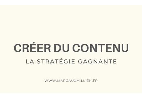 Pourquoi créer du contenu ?