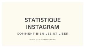 Les statistiques Instagram