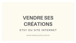 Où vendre ses créations sur internet ?