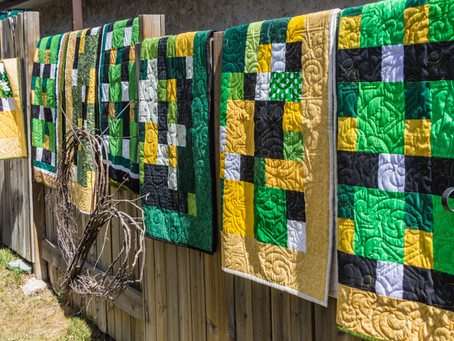 EMQG Quilts for the Humboldt Broncos