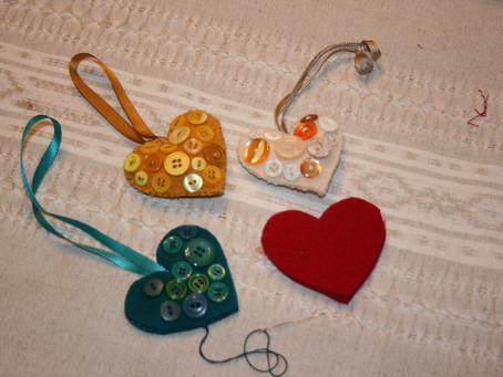 Wool Hearts ~ Feb 13th meeting
