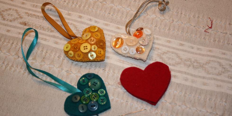 Wool Hearts Feb 13th meeting