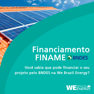Financiamento Finame We Brazil Energy