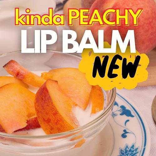 Kinda Peachy Lip Balm