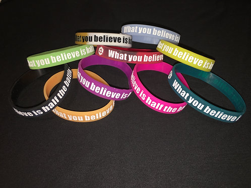 What You Believe -  Wristbands