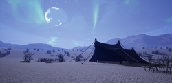 Mysterious Tent