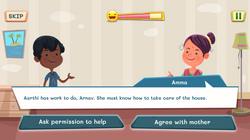 Conversation with Amma