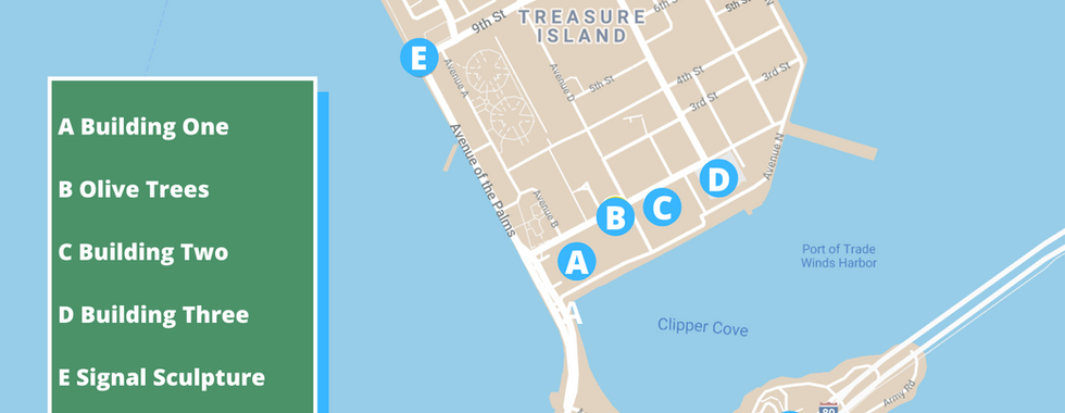 Self-Guided Tour of Treasure and Yerba Buena Islands
