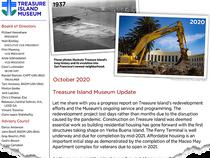 Update on Museum and Island Progress