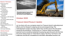 Update on Museum and Island Progress