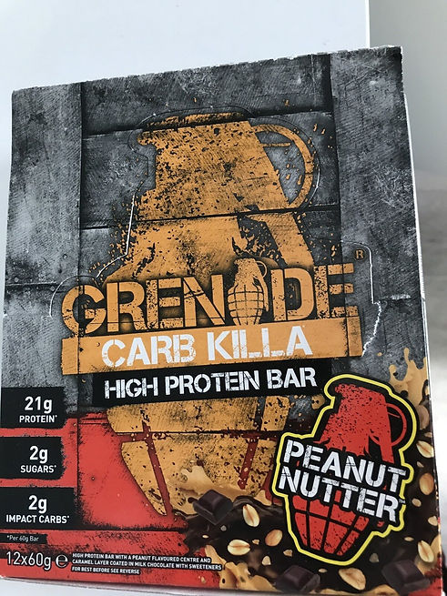 Grenade protein bars communications strategy