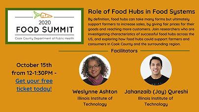 Jay Qureshi & Weslynne Ashton - Speakers at Cook County Food Summit 2020