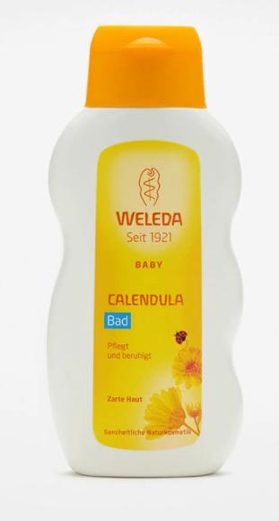 Купание детское с календулой и лекарственными травами 200 мл. Weleda